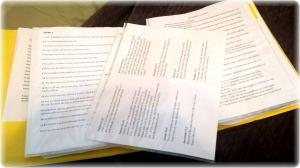 Scripture memory sheets