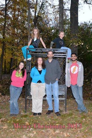 Christmas 2013 family photo