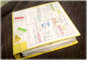 My bible notebook